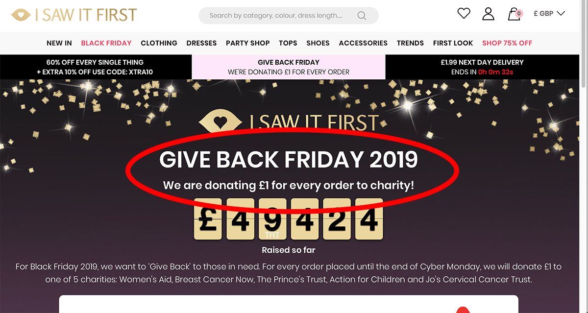 Isawitfirst.com
