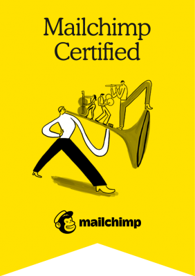 Trine Tømmerås Certificeret Mailchimp Partner