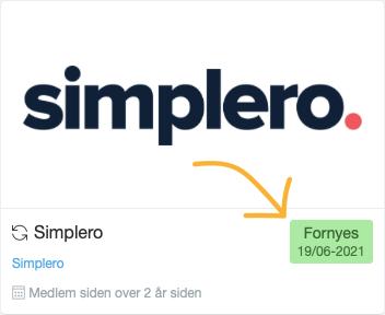 Afmeld dit abonnement i Simplero
