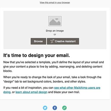 Mailchimp free templates